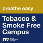 Image that says tobacco and smoke free campus