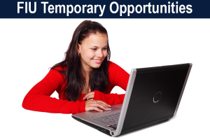 FIU Temporary Opportunities image