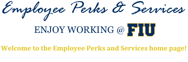 Employee perks services fiu human resources fandeluxe Choice Image